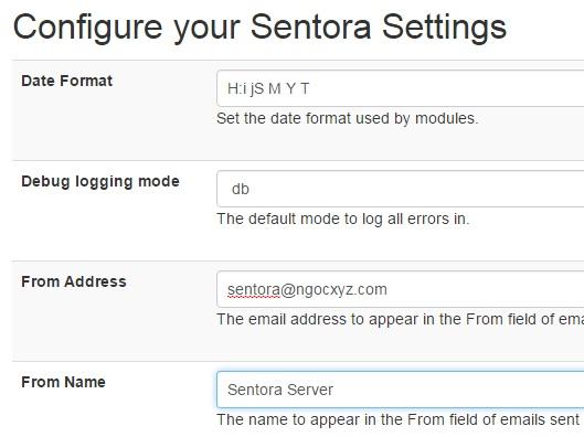 Sentora - Control Panel miễn phí tốt nhất