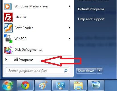 Tắt ứng dụng khởi động cùng Windows 7