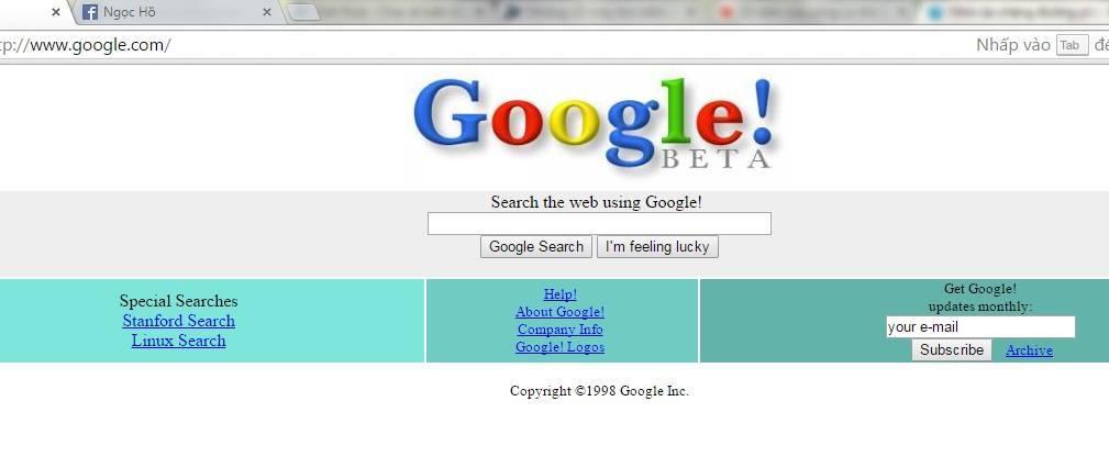 Những cỗ máy tìm kiếm tốt nhất trên mạng internet